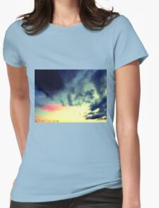 SKY GRABBER Womens Fitted T-Shirt