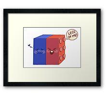 Lego Of Me! Framed Print