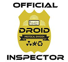 Official Droid Inspector Photographic Print