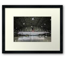 The Hangar Framed Print