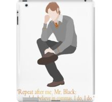 Remus Believes in Commas iPad Case/Skin