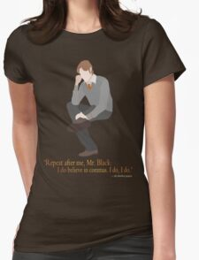 Remus Believes in Commas Womens Fitted T-Shirt