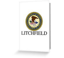 OITNB - Federal Bureau of Prisons Greeting Card