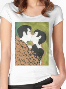Their Kiss Women's Fitted Scoop T-Shirt