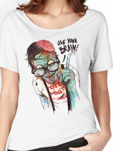 Use your brain Women's Relaxed Fit T-Shirt