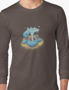 Gargling Squirtle Long Sleeve T-Shirt
