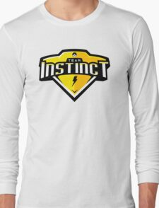 Team Instinct Sports Themed Logo Long Sleeve T-Shirt