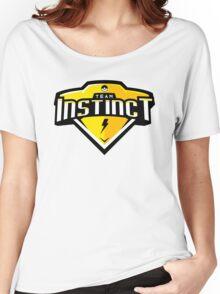 Team Instinct Sports Themed Logo Women's Relaxed Fit T-Shirt