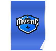 Team Mystic Sports Themed Logo Poster