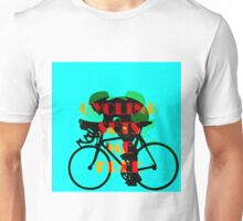 Cycling Sets Me Free Unisex T-Shirt