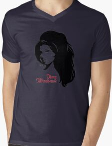 Amy Winehouse Mens V-Neck T-Shirt