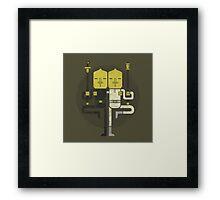 Lemongrab1 X Lemongrab2 Framed Print