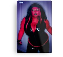 Red She Hulk  Metal Print