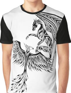 Dragon Fighting 578 Graphic T-Shirt