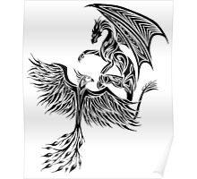 Dragon Fighting 578 Poster