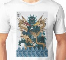 Godzilla Ghidorah All Out Battle Kaiju Unisex T-Shirt