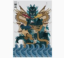 Godzilla Ghidorah All Out Battle Kaiju Unisex T-Shirt