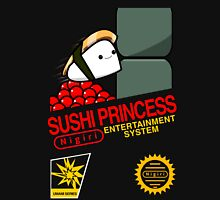 Sushi Princess: Retro Unisex T-Shirt