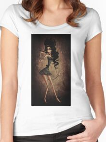 Amy Winehouse Women's Fitted Scoop T-Shirt