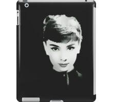 Audrey in Black iPad Case/Skin
