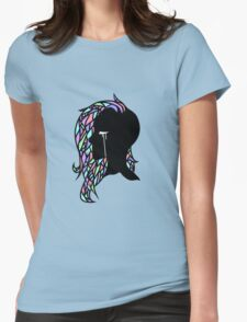 Crystal Hair Womens Fitted T-Shirt
