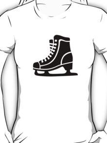 Black ice skate T-Shirt