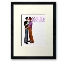 Science Boyfriends Framed Print