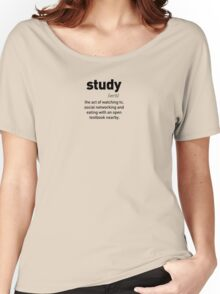 Define Study Women's Relaxed Fit T-Shirt