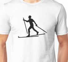 Cross-country skiing Unisex T-Shirt