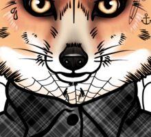 Mr Fox Sticker