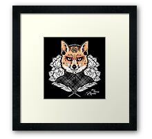 Mr Fox Framed Print
