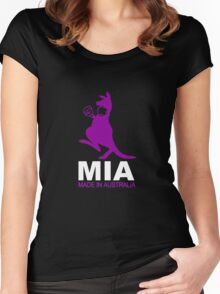 MIA - Made in Australia - PURP Women's Fitted Scoop T-Shirt