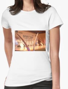 master of ceremony Womens Fitted T-Shirt