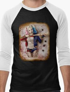 Harley Quinn Men's Baseball ¾ T-Shirt