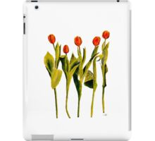 Five Tulips iPad Case/Skin