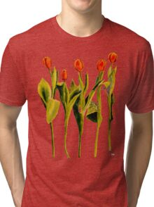 Five Tulips Tri-blend T-Shirt