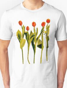 Five Tulips Unisex T-Shirt