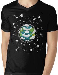 The World Mens V-Neck T-Shirt