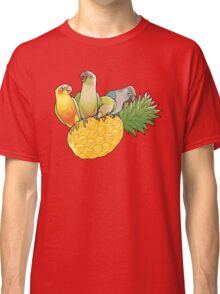 Green Cheek Paradise Classic T-Shirt