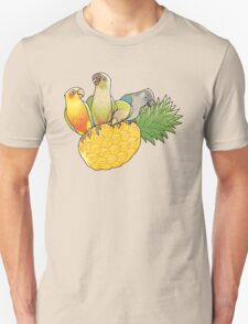Green Cheek Paradise Unisex T-Shirt