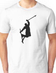 Freestyle ski jump Unisex T-Shirt