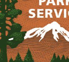 National Park Service Sticker