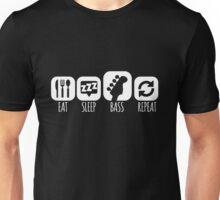 Eat Sleep Bass Music Mantra Unisex T-Shirt