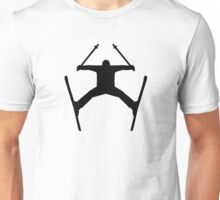 Freestyle ski jump Unisex T-Shirt