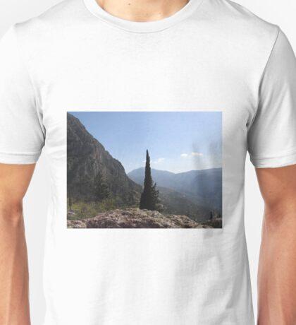 Delphi Conifers Unisex T-Shirt