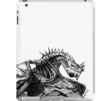 Paarthurnax, Skyrim, Elderscrolls, Fantasy Art, Video Games iPad Case/Skin