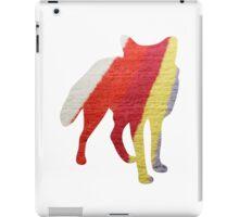 Stripy Fox iPad Case/Skin