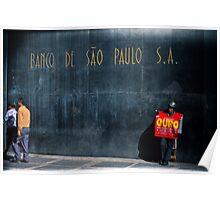 são paulo s.a. Poster