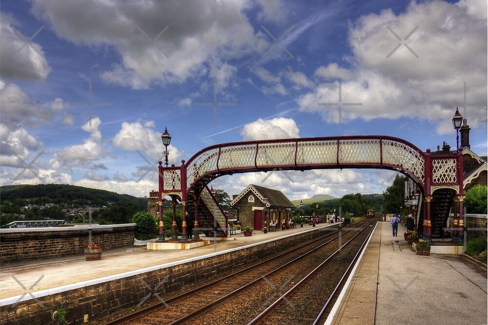 Settle Railway Station by Tom Gomez