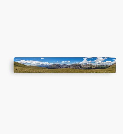 Rocky Mountain National Park Pano #3 Canvas Print